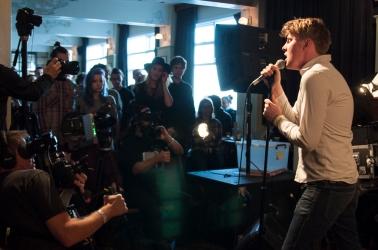 Girl Band, Iceland Airwaves 2014 day 3 live off venue, Reykjavik, Iceland