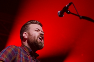Mugison, Iceland Airwaves 2014 day 3 live Harpa, Reykjavik, Iceland