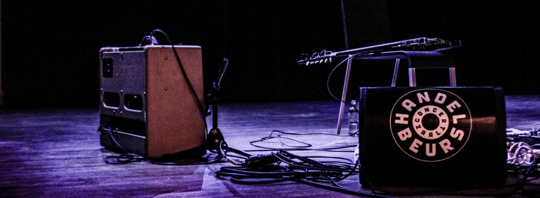 Sam Amidon, live, Ghent, 2015, Handelsbeurs