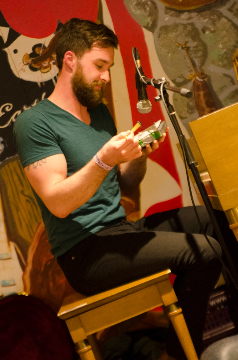 The Young Folk, concerto records, Amsterdam, live 2015, instore