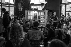 Steve Waitt & band live café de walrus Gent ©Caroline Vandekerckhove