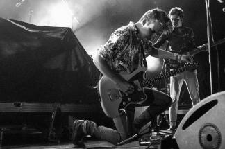 The Sunday Charmers, Les Nuits Botanique, Brussels, live, 2015 ©Caroline Vandekerckhove