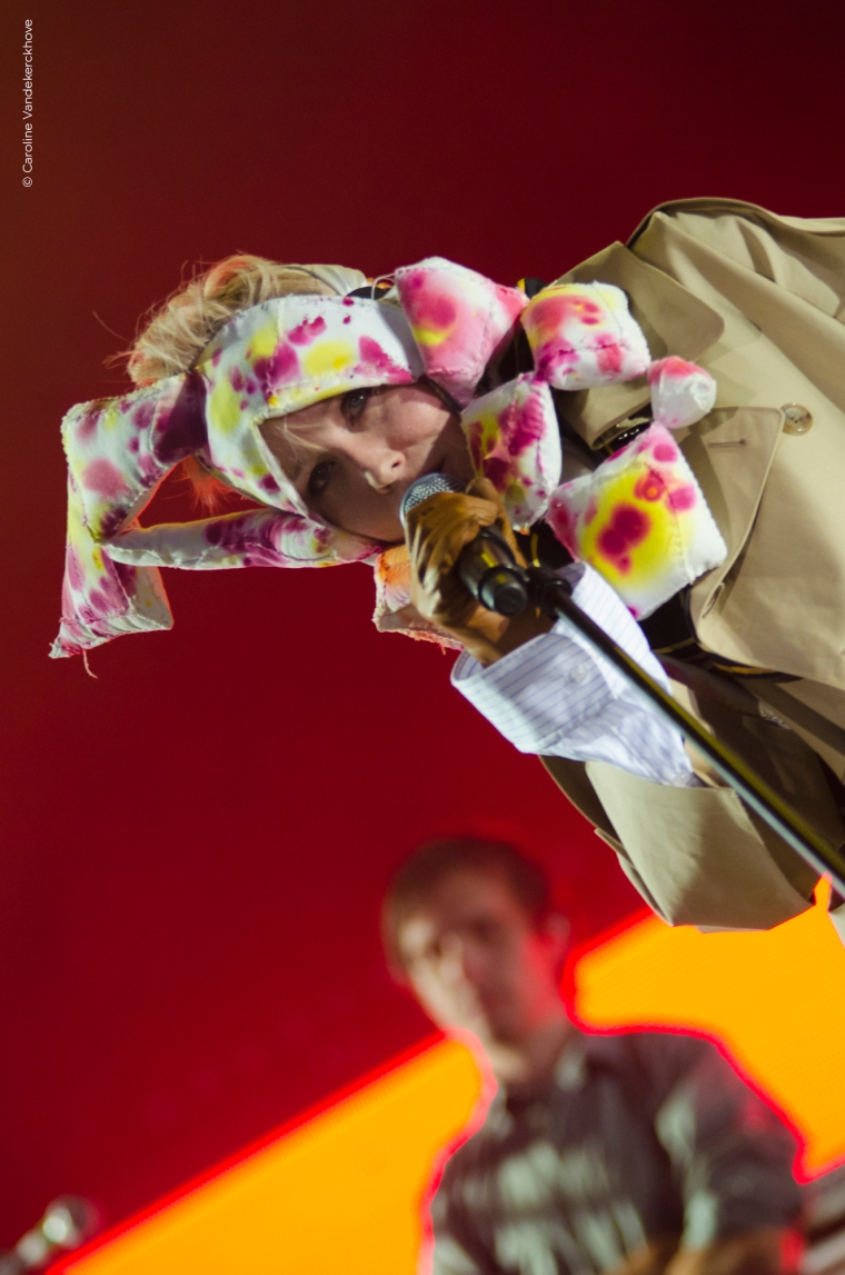 Roisin Murphy, down the rabbit hole 2015 #DTRH15 live Beuningen, the Netherlands ©Caroline Vandekerckhove
