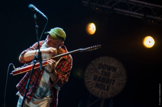 Seasick Steve live down the rabbit hole 2015 © Caroline Vandekerckhove