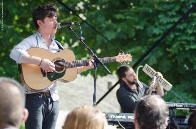The Young Folk, Centre Culturel Irlandais, Fête de la Musique, Paris 2015 live ©Caroline Vandekerckhove