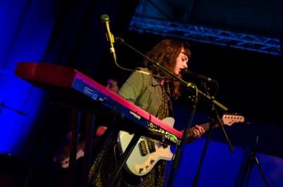 Waxahatchee band live 2015 Ghent DOK Gent Katie Crutchfield © Caroline Vandekerckhove