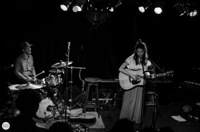 Rachel Sermanni & Tom Terrell live in V11 Rotterdam (Rotown) © Caroline Vandekerckhove 2015