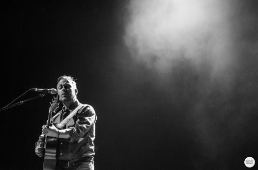 Mark Geary, Gráinne Hunt, Ancienne Belgique Brussels, live 2015 © Caroline Vandekerckhove
