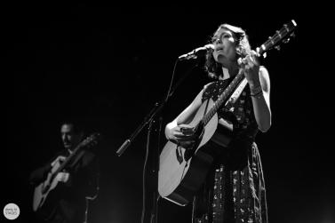 Alela Diane and Ryan Francesconi, Botanique, Brussels, live 2015 © Caroline Vandekerckhove