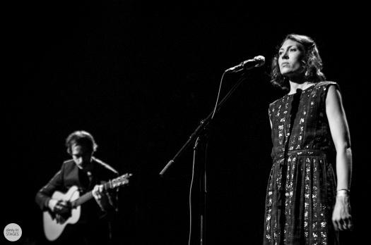 Alela Diane and Ryan Francesconi, Botanique, Brussels, live 2015 © Caroline Vandekerckhove