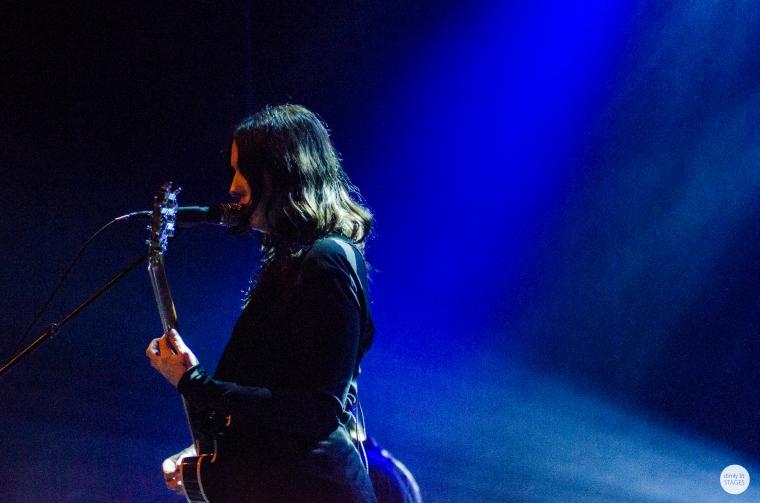 Chelsea Wolfe, Ancienne Belgique, Brussels, live 2015 © Caroline Vandekerckhove