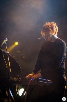 Banana opening for Cate Le Bon live 2016 botanique brussels © Caroline Vandekerckhove