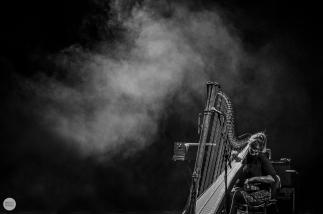 Mary Lattimore live 2016 Minard Ghent © Caroline Vandekerckhove