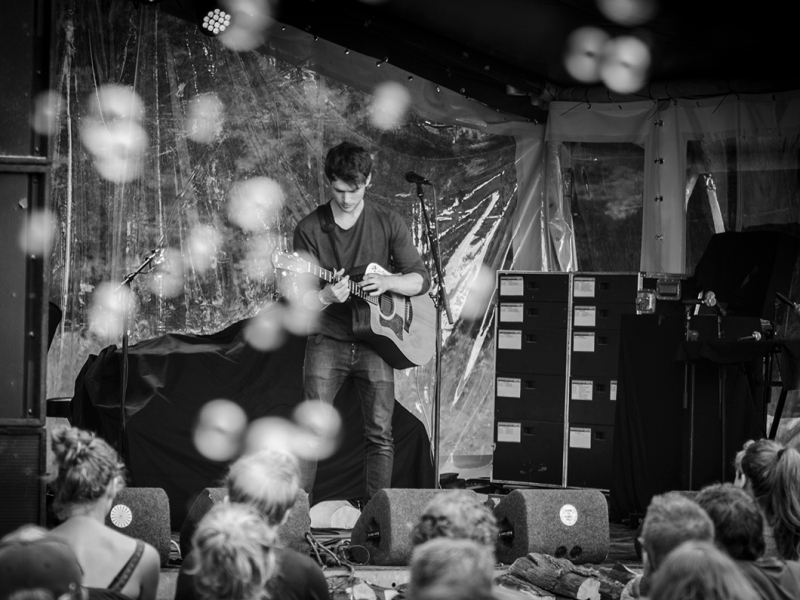 Daniel Docherty live 2016 down the rabbit hole, the Netherlands © Caroline Vandekerckhove