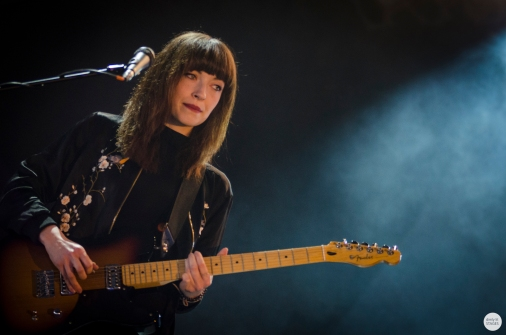Daughter band Elena Tonra live 2016 down the rabbit hole, the Netherlands © Caroline Vandekerckhove