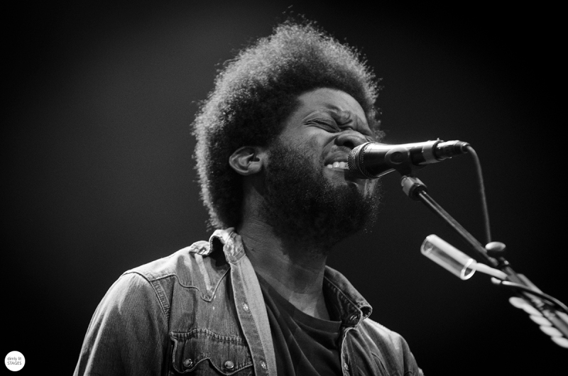 Michael Kiwanuka live 2016 down the rabbit hole, the Netherlands © Caroline Vandekerckhove