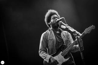 Michael Kiwanuka live 2016 down the rabbit hole, the Netherlands © Caroline Vandekerckhove