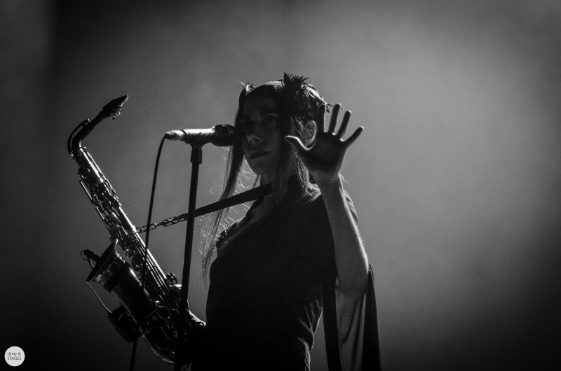 PJ Harvey live 2016 down the rabbit hole, the Netherlands © Caroline Vandekerckhove