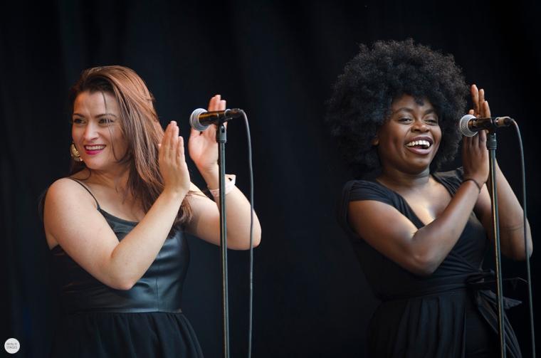 Laura Mvula live 2016 cactus festival Brugge Bruges © Caroline Vandekerckhove