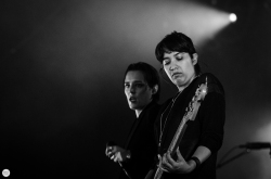 Savages Jehnny Beth (Camille Berthomier) live 2016 Down the rabbit hole Beuningen the Netherlands © Caroline Vandekerckhove