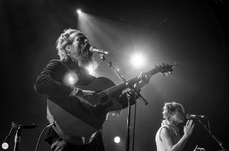 Sam Beam and Jesca Hoop (iron and wine) live 2016 botanique Brussels © Caroline Vandekerckhove
