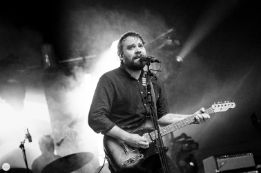 Frightened Rabbit Scott Hutchison live 2016 down the rabbit hole festival Beuningen the Netherlands © Caroline Vandekerckhove