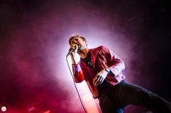 Kaiser Chiefs Ricky Wilson live 2017 Cactusfestival Brugge Bruges © Caroline Vandekerckhove