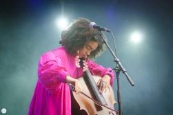 Kelsey Lu live 2017 Cactusfestival Brugge Bruges © Caroline Vandekerckhove