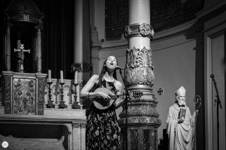 Lisa Hannigan live 2017, 7 layers festival Amsterdam, de duif © Caroline Vandekerckhove