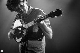 Sam Amidon live 2017, Ancienne Belgique Brussels © Caroline Vandekerckhove