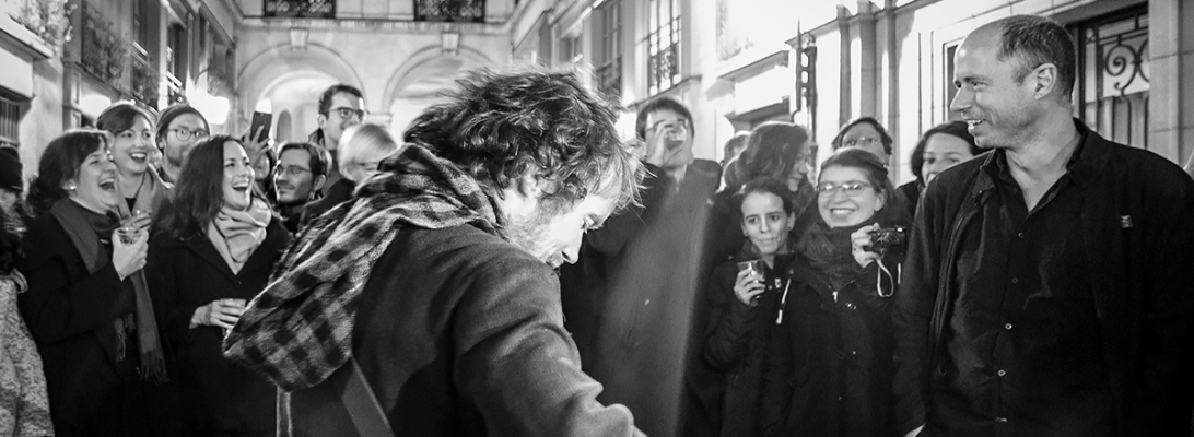 damien rice live 2017, outside the olympia paris © Caroline Vandekerckhove