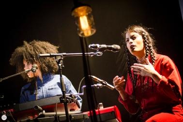 Ibeyi live 2017, het depot Leuven © Caroline Vandekerckhove
