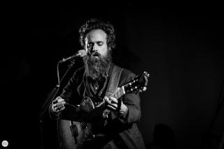 Iron and Wine Sam Beam live 2018, Ancienne Belgique AB Brussels © Caroline Vandekerckhove