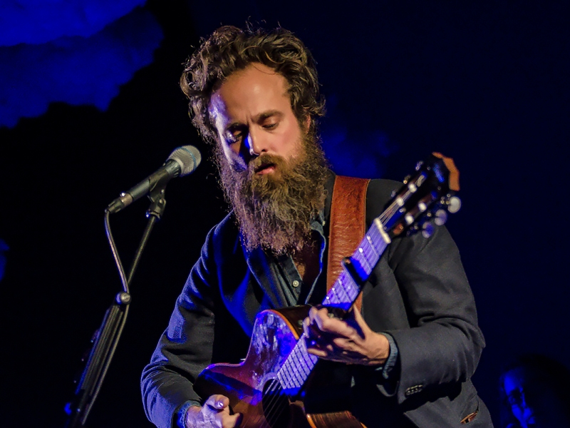 Iron and Wine Sam Beam live 2018, Ancienne Belgique AB Brussels © Caroline Vandekerckhove