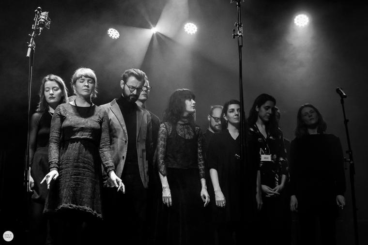 Pétur Ben and Kórus live 2018, miXmass deSingel Antwerp © Caroline Vandekerckhove