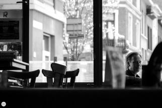 Benedict (Ben Overlaet) live 2018, cafe rood wit Antwerpen © Caroline Vandekerckhove