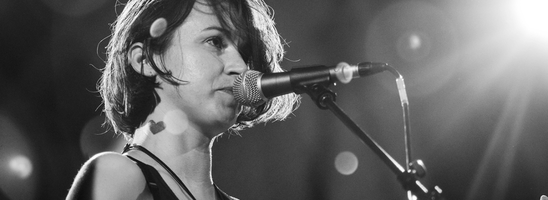Holly Miranda live 2018, little waves Genk © Caroline Vandekerckhove