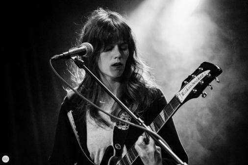 Katie Von Schleicher live 2018, Trix Antwerp © Caroline Vandekerckhove