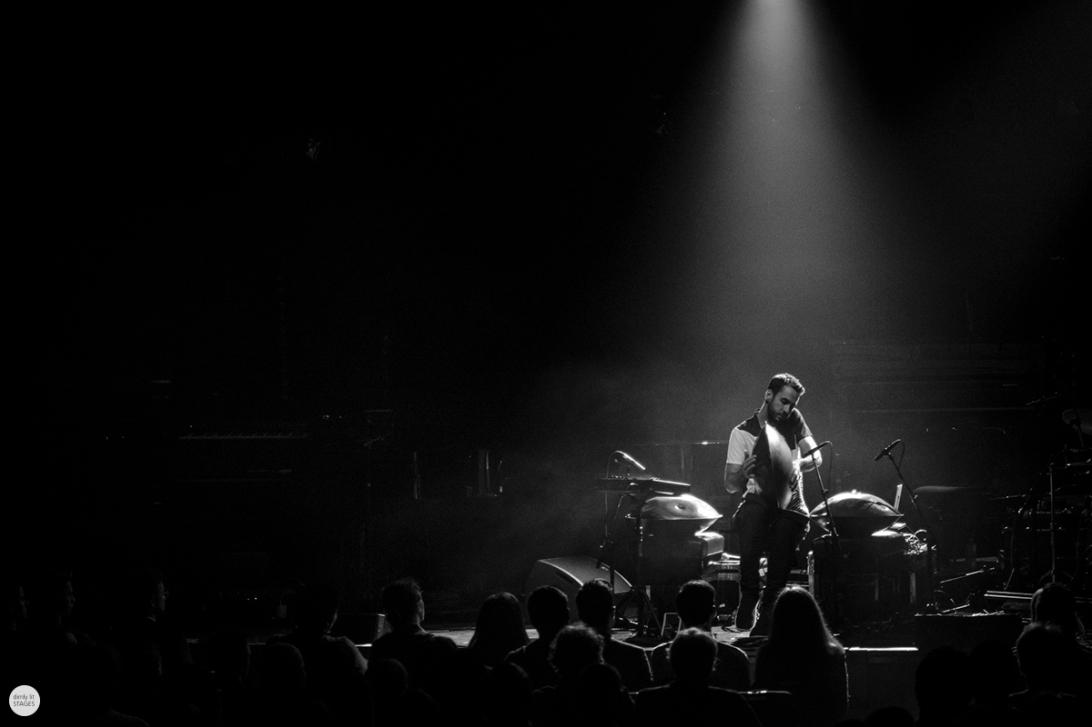 Manu Delago live 2018, BOZAR Brussels © Caroline Vandekerckhove
