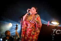 the colorist ft. Emiliana Torrini live 2018 Feeërieën Brussel © Caroline Vandekerckhove