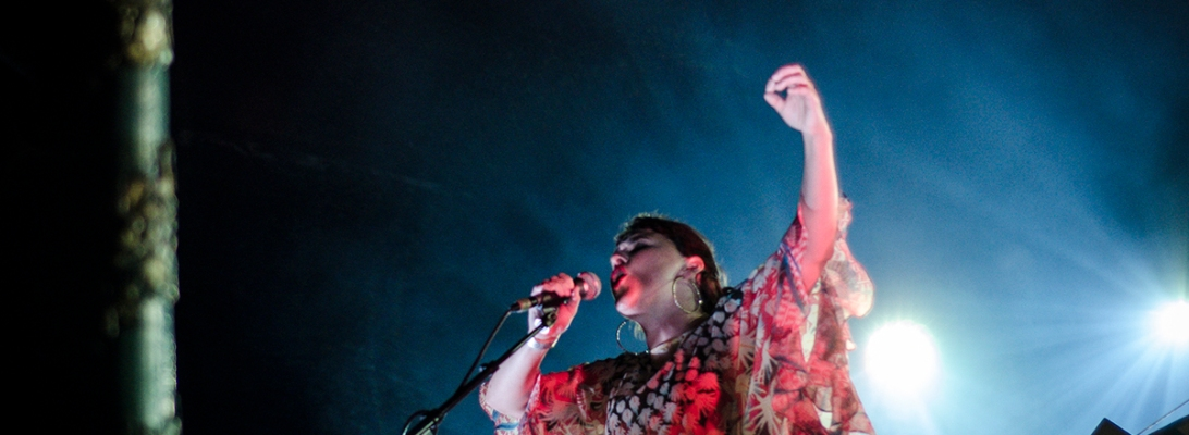 the colorist ft. Emiliana Torrini live 2018 Feeërieën Brussel © Caroline Vandekerckhove