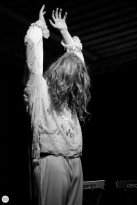 Lauren Auder live 2018 DOK Ghent © Caroline Vandekerckhove