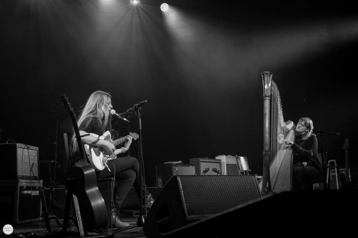 Meg Baird and Mary Lattimore live 2018 Ancienne Belgique AB Brussels © Caroline Vandekerckhove