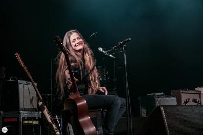 Meg Baird and Mary Lattimore live 2018 Ancienne Belgique AB Brussels © Caroline Vandekerckhove