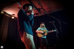 Stu Larsen and Natsuki Kurai live 2018 het Depot Leuven © Caroline Vandekerckhove