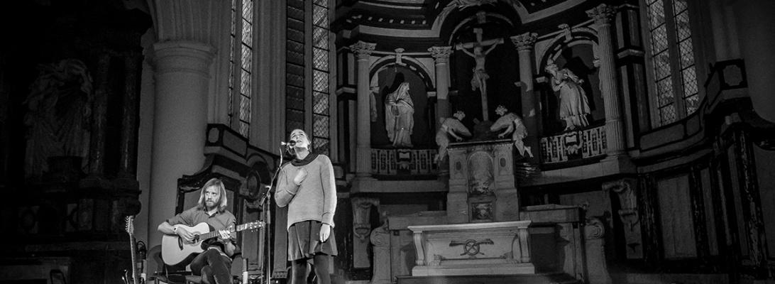 Josienne Clarke and Ben Walker live 2018 30CC Predikherenkerk Leuven © Caroline Vandekerckhove