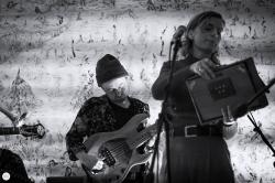LINDE maaike van der linde Conor O'Brien live 2019, space resonance, Antwerp © Caroline Vandekerckhove