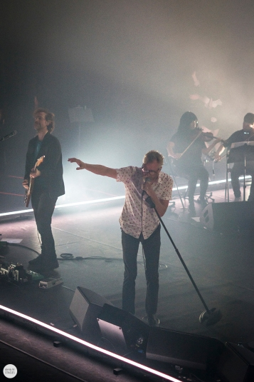 The National band live 2019, l'olympia Paris © Caroline Vandekerckhove