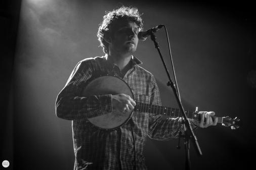 Sam Amidon presents Harry Smith's 'Anthology of American Folk Music' live 2019, Ancienne Belgique Brussels © Caroline Vandekerckhove