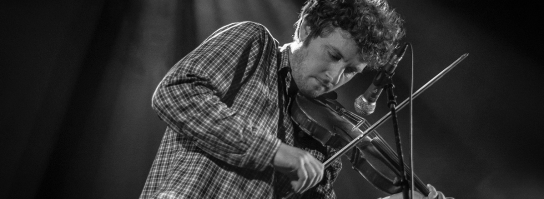 Sam Amidon presents Harry Smith's 'Anthology of American Folk Music' live 2019, Ancienne Belgique Brussels © Caroline Vandekerckhove